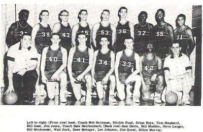 1958-59 Elyria Pioneers Basketball Team