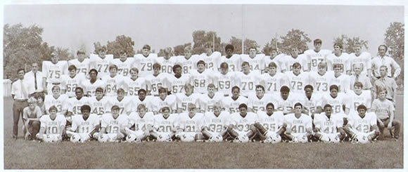 1971 ELYRIA HIGH FOOTBALL TEAM